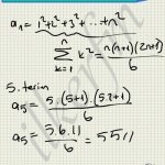 Diziler ile toplam formülleri bağlantılıdır.