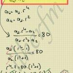 Geometrik dizi soru çözüm r ortak oranın bulunmasi