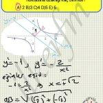 Bir fonksiyonun herhangi bir noktaya olan en yakin uzakliginin ekstremum noktalari ile bulunmasi