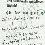 Trigonometrik denklemlerde kök bulma. Saglam konu iyi bilelim Trigonometrik dönüşümleri