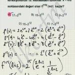 #lys 2013 matematik 41. soru çözüm