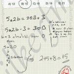 Çözüm de yazilan denklem ile sonuca rahatça gidilir. #ygs #lys matematik fem Yayınları bölme bölünebilme