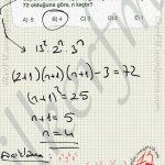 Bolenlerin sayısı, #ygs #lys matematik fem Yayınları