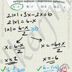 Köklü ifadenin derecesi çift ise mutlak değer kaçınılmaz olur:) #ygs #lys matematik fem Yayınları