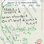 2.dereceden Denklemler ve kökleri #ygs #lys matematik fem Yayınları