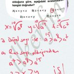 Köklü ifadeler de sıralama #ygs #lys matematik fem Yayınları