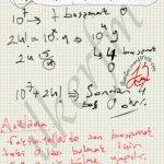 Faktoriyel sorularindan son basamaktaki sıfır ların sayisi kolayca tespit edilir #ygs #lys matematik