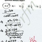 Trigonometri yarım acı formulleri kullanımı #ygs #lys matematik fem Yayınları