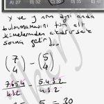 4 elemanli alt küme sayısı ve belli elemanların olması