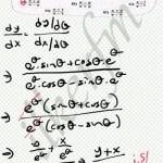 Parametrik fonksiyonlar da türev #lys
