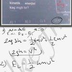 Cisimler aynı ipe bagli ise aynı hızla hareket ederler #lys fizik