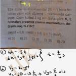 Eğit atış ve momentum Bileşenlerine ayirip incele #lys #fizik