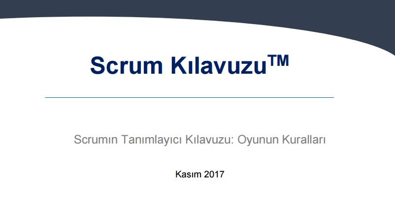 Scrum Kılavuzu 2017