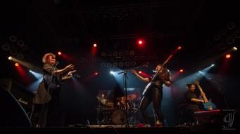 Monstress of Guitar: Erja Lyytinen & Jennifer Batten