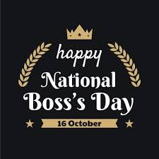 National Boss' Day