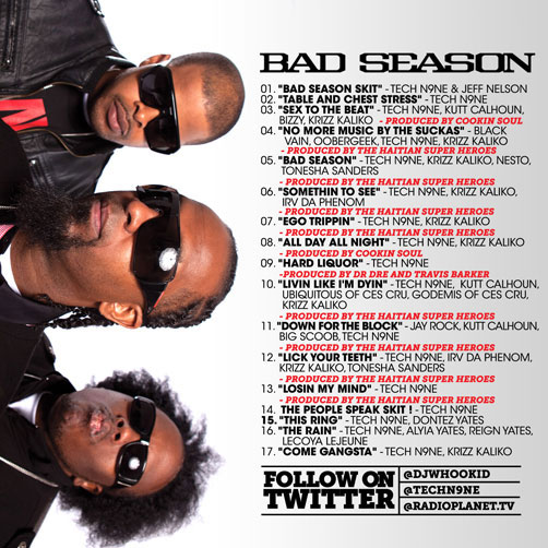 "PICK OF THE WEEK: Tech N9ne ""Bad Season"""