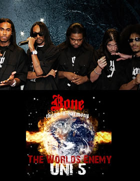 Bone Thugs N' Harmony's The World's Enemy