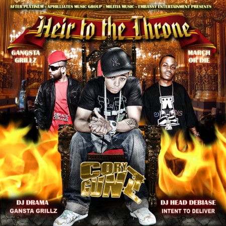Cory Gunz x DJ Drama x DJ Head Debaise – Heir To The Throne (Mixtape)
