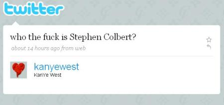 Kanye West – Who The F*** Is Steven Colbert