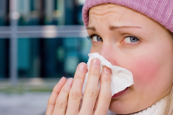 The common cold - it blows.