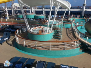 There are six Hot tubs on the Norwegian Epic
