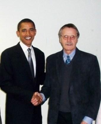 Mayor Strzelczyk meets with President Obama