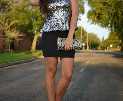 Outfit Of The Day – 'Tis The Season To Be Sparkly