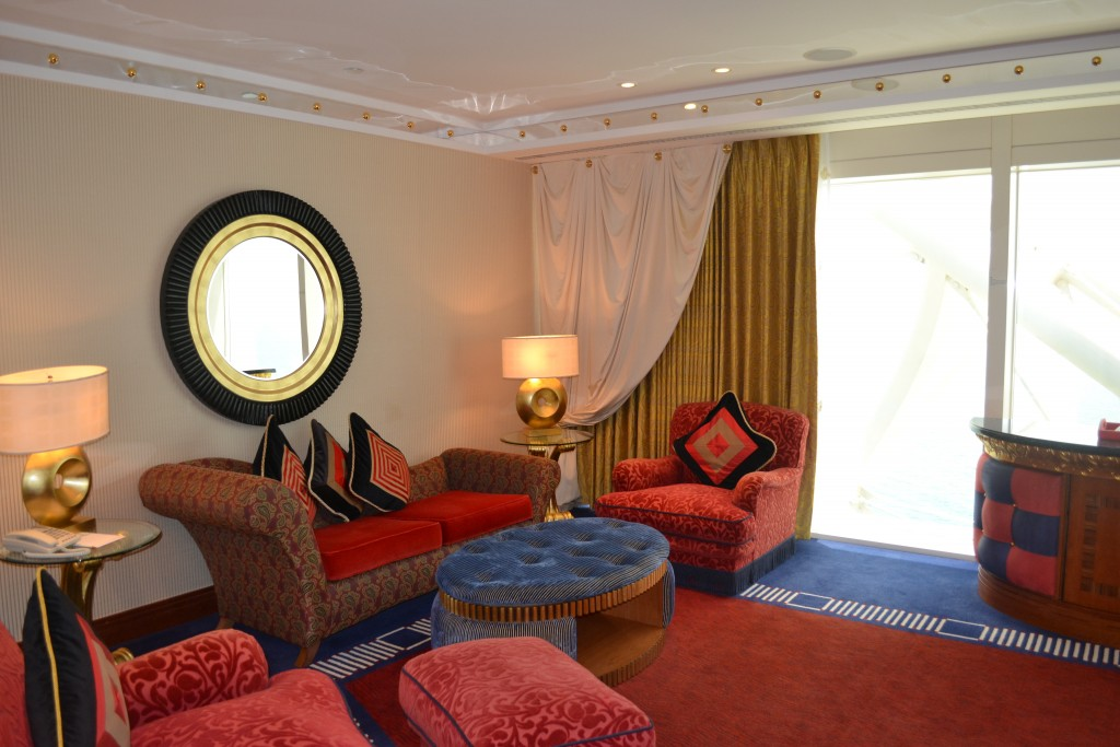 "This is what a ""small"" suite in the Burj Al Arab looks like"