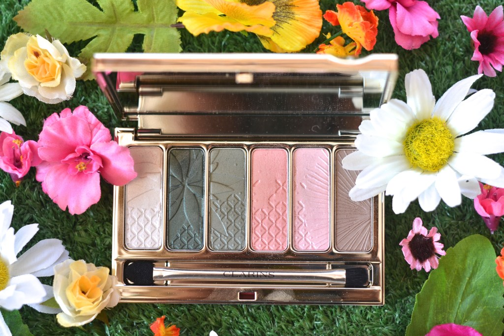 clarions garden escape eyeshadow palette