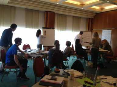 Highly engaged participants at one of my workshops