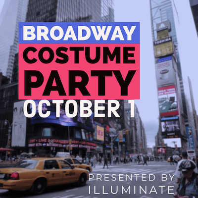 Broadway Costume Party Ticket
