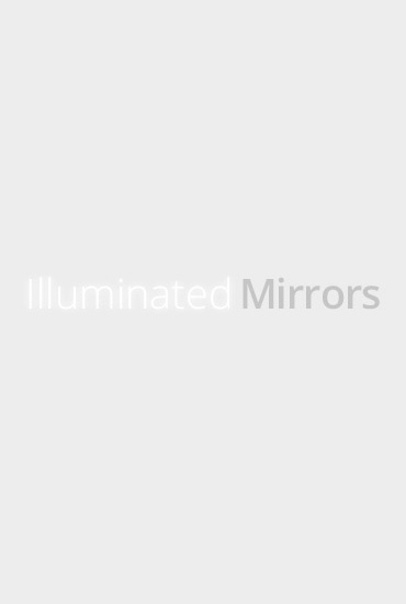 Coral Double Edge Bathroom Mirror H 820mm X W 600mm X D