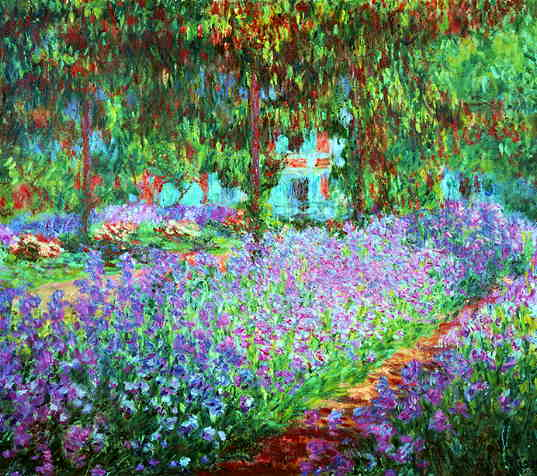 Impressionistic Painting by Claude Monet