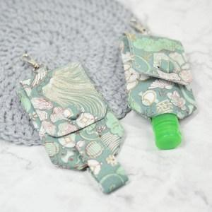 Hand Sanitizer Carrier - Oriental Jade