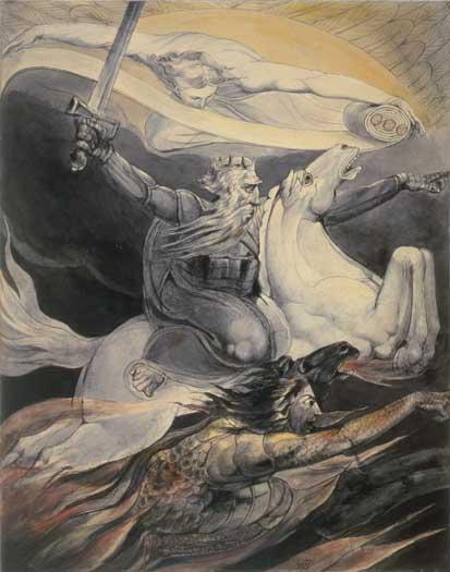 Death on a Pale Horse, William Blake