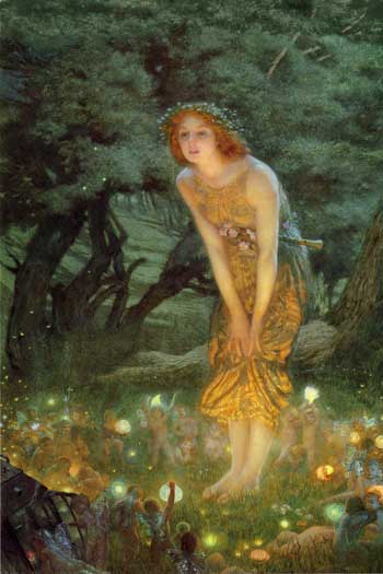 Midsummer's Eve, Edward Robert Hughes