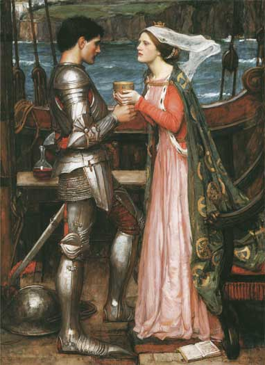Tristram & Isolde, Waterhouse