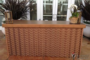 "Bronze Wave Bar 967334;x30""x42""h"