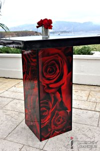 "Rose Cocktail Tables 32"" Top x 42""h"