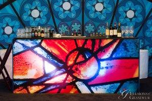 """Chagall Bar 96"""" x 30"""" x 42""""h"""