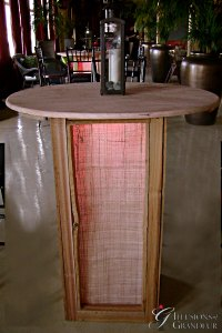 "Abaca Cocktail Tables 35"" Top x 42""h"