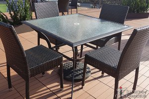 "Patio Dining Tables 40""x40""x28.5""h"