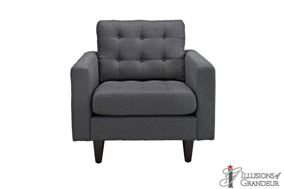 "Grey Chairs 35.5""H x 35.5""W x 35.5""D"