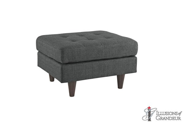 Grey Ottomans