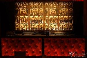 Pintuck Bar with Back Bar