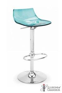 Aqua-Acrylic-Barstool