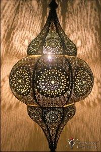 """Moroccan Lanterns 1 36""""x36""""x32""""H"""