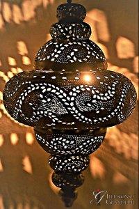 """Moroccan Lanterns 3 16""""x16""""x32""""H"""