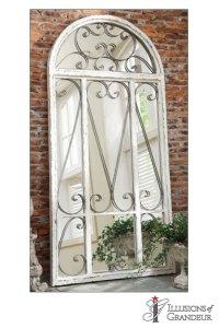 Garden Doors with Mirrors