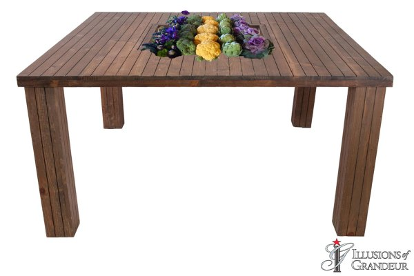 Planted Dining Tables